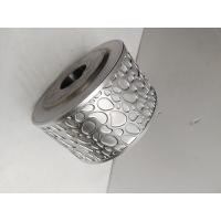 Metallic Steel Embossing Roller With 45# Seamless Pipe , Knurling Roller