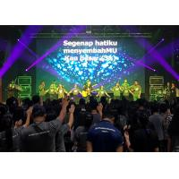 Buy cheap Full Color P3.9 Indoor Rental LED Display , Die Casting Aluminum SMD Led Screen from wholesalers