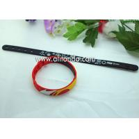 China Promotional gifts custom soft silicone wristband for children sports meeting events club on sale