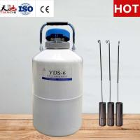 Buy cheap TianChi 6L Liquid Nitrogen Tank YDS-6-50 Cryogenic Semen Container Price from wholesalers