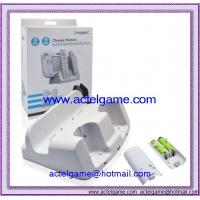 Buy cheap Wii U and Wii remote charge station Nintendo WiiU game accessory from wholesalers