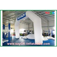 Buy cheap Italy Blue / White Inflatable Arch 6mL x 4mH With Oxford Cloth And PVC Coating from wholesalers