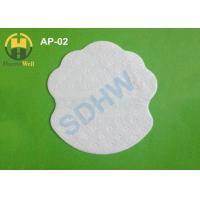 China White color flower shape disposable armpit sweat pads for lady on sale