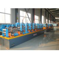 Buy cheap High Frequency Welding ERW Pipe Mill , Carbon Steel Tube Making Machine from wholesalers