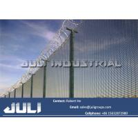 Buy cheap 358 welded mesh high security fencing, galvanized high security 358 mesh fencing from wholesalers