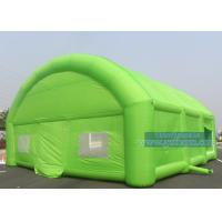 Buy cheap Green Size Custom Inflatable Tent For Outdoor Party Tent With Thickening Oxford from wholesalers