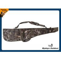 Buy cheap 50 Inch Waterproof Floating Camo Gun Case PVC Coated Adjustable Strap OEM from wholesalers