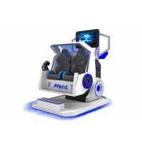 Buy cheap 2 Seats Roller Coaster 9d VR Simulator Game Machine product