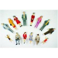Buy cheap P30-14 outdoor 1:30 Architectural Scale Model People Painted Figures 5.5cm from wholesalers