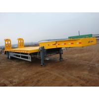 Buy cheap 2 AXLES EQUIPMENT TRAILER 35ton from wholesalers