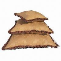 Buy cheap 100% Polyester Cushions, Various Designs are Available product