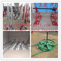 Buy cheap Cable drum trestles  made of cast iron  Jack towers from wholesalers