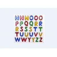 Buy cheap Safe Glitter Letter Stickers , Kindergarten Childrens Alphabet Stickers from wholesalers