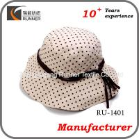 Buy cheap Ladies fashion wide brim sun hat from wholesalers