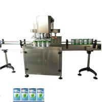 Buy cheap Automatic SUS304 bottle Tin can sealer,Food grade Tin Can sealer Coffee Powder can sealer from wholesalers