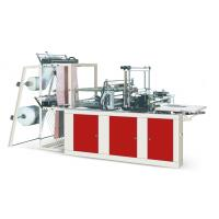 Buy cheap Four Lines Plastic Poly Bag Making Machine Cold Cutting For Flat Opening Bags product