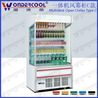 Buy cheap 1m Hot sales commercial supermarket display cooler from wholesalers