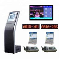 Buy cheap Bank LCD Central Display Ticket Number Queue System Integrated Customer Satisfaction System from wholesalers