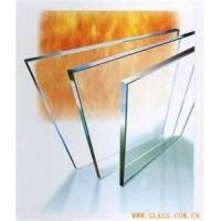 Buy cheap Multi - layer fire resistant / fire rated glass for fireplaces, windows from wholesalers