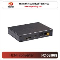 Buy cheap HDMI to HDMI Audio+ 3.5mm Phone Jack +Coaxial + optical Converter from wholesalers