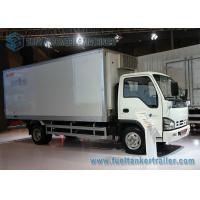 Buy cheap 3 Ton / 5 Ton ISUZU Transport Refrigerated Box Truck 6980*2100*3060mm from wholesalers