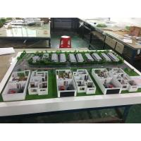 Buy cheap 1 / 250 Scale House Interior 3D Model Warm Led Light Painted Color 1 * 0 . 8M from wholesalers
