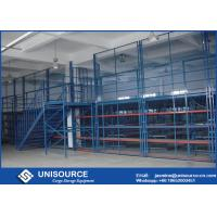 Buy cheap Metal Frame Pallet Rack Supported Mezzanine Plywood Board Multi Level Floor from wholesalers