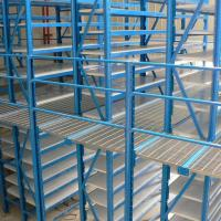 Buy cheap Multi  Level Pallet Rack Supported Mezzanine Powder Coating or Galvanized from wholesalers