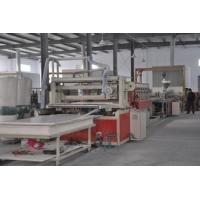 Buy cheap Double Conical Screw WPC Foam Board Machine Professional For Cabinet from wholesalers