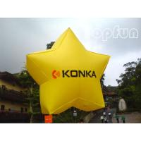 Buy cheap Shining Star Inflatable Helium Balloon Advertising With 2mm PVC Tarpaulin from wholesalers
