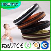 Buy cheap Baby teething cookie soft silicone teether biscuits necklace toy from wholesalers