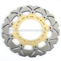 Buy cheap Gladius 650 Motorcycle Floating Brake Disc CNC Milled Aluminum Alloy 6 Holes product