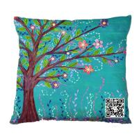 Buy cheap Customized Sublimation Printed Pillow Cases, Cushion Covers from wholesalers