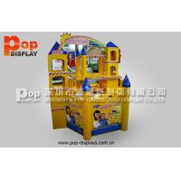 Buy cheap OEM / ODM  Cardboard Pallet Display Promotional Merchandise Castle from wholesalers