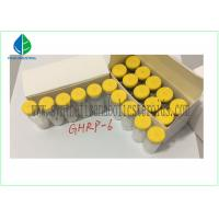 Buy cheap Human Growth Hormone Releasing Peptide , GHRP 6 Peptide 5mg / Vial CAS 87616-84-0 from wholesalers