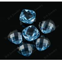 Buy cheap Synthetic gemstone direct manufacturer brilliant cut light blue spinel gemstone from wholesalers