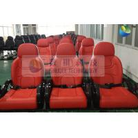 Buy cheap Red Color Motion Theater Chair , With Air And Water Effects product
