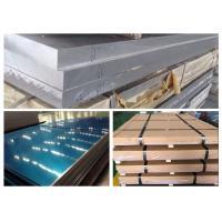 Train Body Aluminium 6005 T6Plate , 4~260mm Thickness Aluminium 6005a T6Sheet