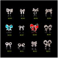 Buy cheap Hot NEW Wholesale Alloy Jewelry 3D Nail Art Jewelry Nail rhinestones Sticker Supplier Number ML802-813 from wholesalers