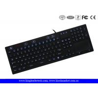 Buy cheap On / Off Switch Silicone Laptop Keyboard 106 Keys Adjustable Brightness from wholesalers