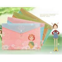 Buy cheap A4 cartoon PP File Folder recycled material folders printed document bag from wholesalers