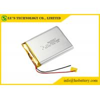 Buy cheap LiPo 905567 Rechargeable Lithium Polymer Battery 3000mah 3.7V Customized Terminals from wholesalers