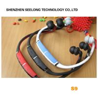Buy cheap Red Headband Mono Bluetooth Headset Two Way Radio With 10M Working Distance from wholesalers