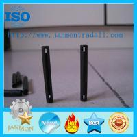 Buy cheap Special Slotted Spring Pin(with two holes),Spring dowel pin with holes,Spring roll pin with holes,Black roll pinWithHole from wholesalers