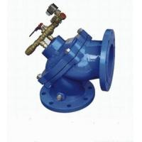 Quality Angle Type 300mm Pressure Reducing Valves Lightweight Diaphragm Sludge for sale