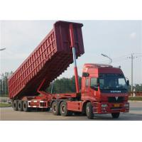 Buy cheap Tri-Axle Dump Truck Trailer 40 Tons- 60 Tons 35M3 End Tipper Semi Trailer For Mineral from wholesalers