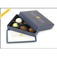Buy cheap Elegant Luxury Cardboard Chocolate Boxes Paper Gift Packaging With Lid from wholesalers