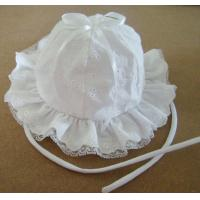 Buy cheap hot sale baby summer hat ,girl's summer cotton hat ,girl's flowers hat from wholesalers