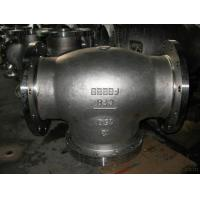 Buy cheap ANSI 600LB API 6D Flanged Check Valve , Swing Type Industrial Check Valve from wholesalers