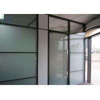 Buy cheap Double Glazing Aluminium Office Partition Easy Assembly Heat Insulation from wholesalers